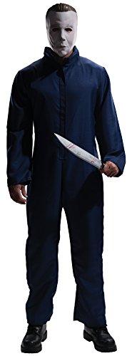 Rubie 's Offizielle Michael Myers mit Maske Halloween Horror Film, Erwachsene Kostüm–Standard Größe (Kostüme Aus Filmen)