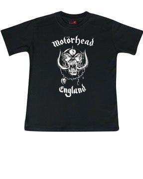 Motörhead (England): Kids T-Shirt, schwarz, Gr. 92 (Rockstar Kleidung)