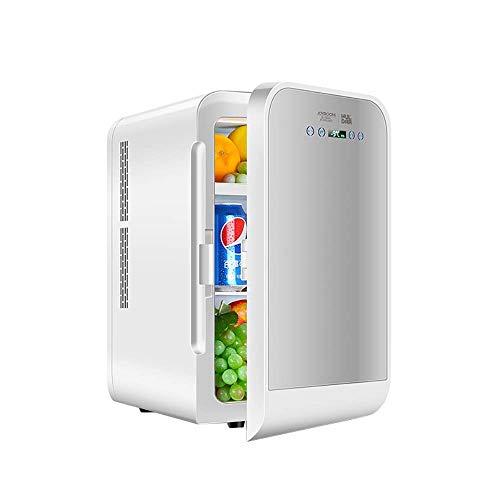 ZZXXRR 20L Tabletop Mini Kühlschrank Auto Kühlschrank DualCore Digitalanzeige Temperatureinstellung Auto Home Dual Use Einzeltür Ultra Leise Geräuscharm Elektronischer Kühler und Wärmer - Tabletop-wein Kühler