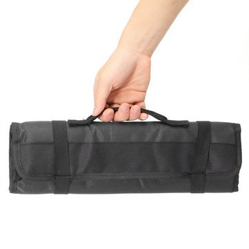 Generic 22 Pockets Hardware Screwdriver Spanner Pouch Toolkit-