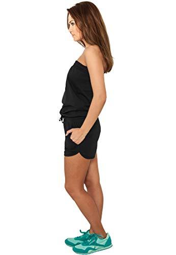 Urban Classics Damen Jumpsuit kurz black - 2
