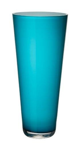 Villeroy & Boch 1172681036 Verso - Jarrón (38 cm), color azul turquesa