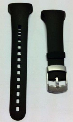 Suunto Kit bracelet en élastomère pour Suunto D9 Noir