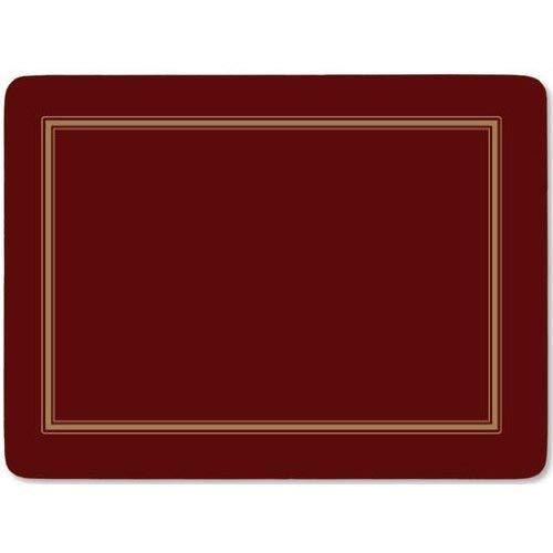 Classic Burgundy Tischunterlage 4 Stück (s) (Rot Kork Tischsets)