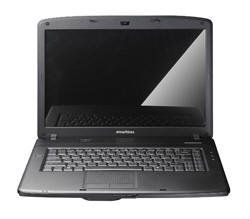 eMachines E720-424G32Mi 39,1 cm (15,4 Zoll) WXGA Notebook (Intel Pentium T4200 2GHz, 4GB RAM, 320GB HDD, Intel GMA X4500M, DVD +- DL RW, Win 7) 320 Gb 15.4 Dvd