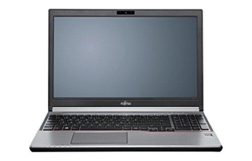 Fujitsu VFY:E7560MP5DBDE 39,6 cm (15,6 Zoll) Laptop (Intel Core i5, 16GB RAM, Intel HD Graphics 5500, Win 10 Pro) silber/schwarz/rot