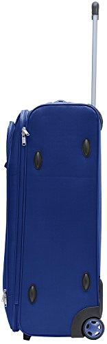 Packenger Lite Traveller Koffer Größe XL in Blau. Die Abmessungen sind  75x47x29cm. - 2