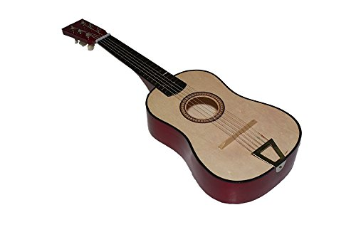 Imagen de juguetutto   gr. marron. con esta  de madera grande niños de todas las edades se aficionaran a la música y a este precioso instrumento muy español