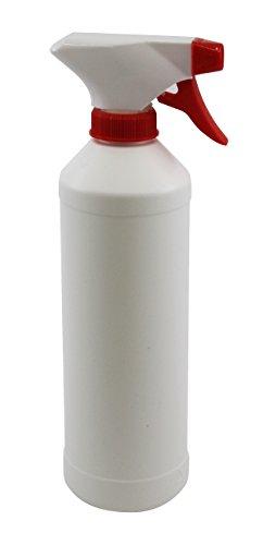 Wasserrose® SPRÜHFLASCHE LEER 500ml FÜR SPRÜHNEBEL FÜR REINIGUNGSMITTEL
