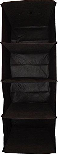 neusu-premium-hanging-shelves-wardrobe-organiser-4-shelves-black-30cm-x-30cm-x-84cm-75-litre-capacit