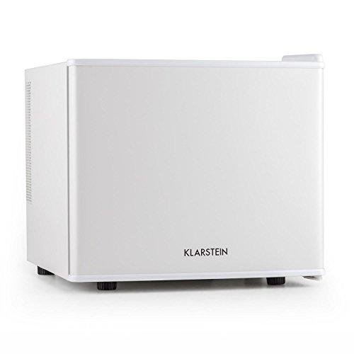 Klarstein Geheimversteck • Minibar • Mini-réfrigérateur • Réfrigérateur à boissons • A+ • 17 Litres • env. 38,5 x 33,5 x 41,5 cm (LxHxP) • Faible bruit de fonctionnement • 38 dB • Étagère • Blanc