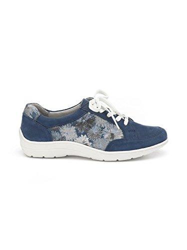 Avena Damen Leicht-Schnürer Sommerblüten Blau