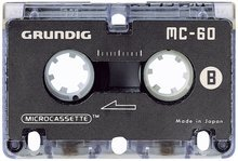 Microcassette MC-45, für Analog-System, 3er Pack Micro Analog Systems