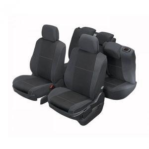 DBS 1010809 Coprisedili Auto / Vettura - Su Misura - Rifinizioni Alta Gamma - Montaggio Rapido - Compatibile Airbag - Isofix