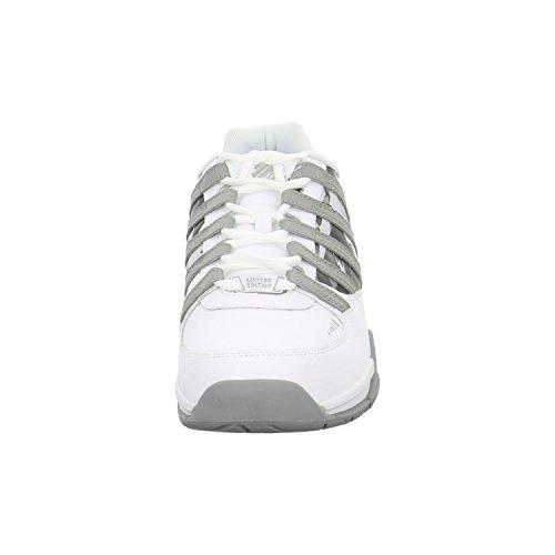 K-Swiss Herren Baxter Low-Top white-neutral gray (03787-128)
