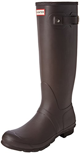 Hunter Original Tall, Bottes de Pluie femme Marron (Bitter Chocolate)