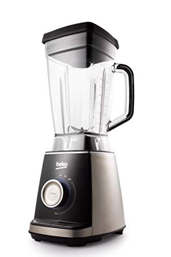 Beko TBS3164X - Licuadora (2 L, Botones, Giratorio, 32000 RPM, Batidora de vaso, Negro, Gris, Transparente, Cups,Fluid ounces)