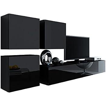 Wohnwand Vigo XXIII, Design Mediawand, Modernes Wohnzimmer
