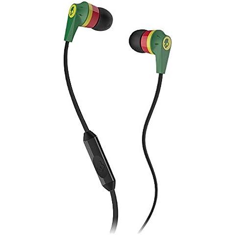 Skullcandy Ink´d 2.0 - Auriculares in-ear (con micrófono), rasta