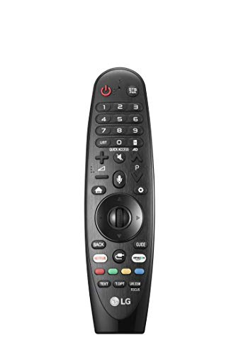 LG AN-MR18BA Magic Remote-Fernbedienung Schwarz