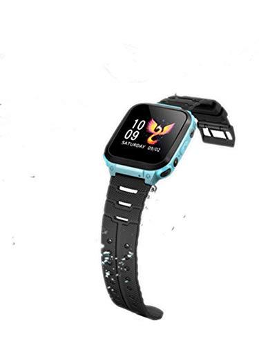 hahuha Reloj Infantil Smartwatch para niños con Llamada LBS Reloj Despertador con...
