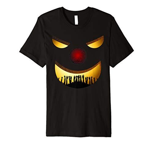 Creepy Clown Halloween Tshirt Horror Kostüm Geschenkidee