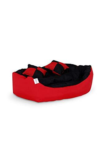 Zoom IMG-1 dibea cuscino per cani rosso