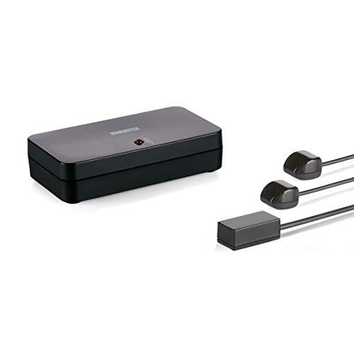 Marmitek Invisible Control 6 XTRA - Infrarotverlängerung - Blaster - extra kleiner Empfänger - Bedienen von Geräte in einem geschlossenen Schrank Ir-extender