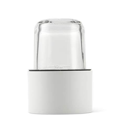 Kenwood AWTAT320B01 - mini hachoir/moulin + 4 Mini Cuves en Verre Couvercle pour robot Chef -Major