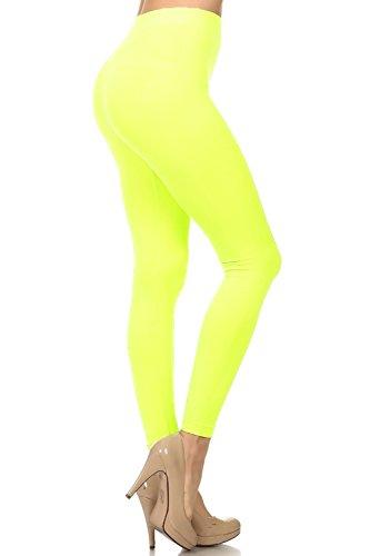 Leggings de vestir amarillos sin costuras - Alta calidad