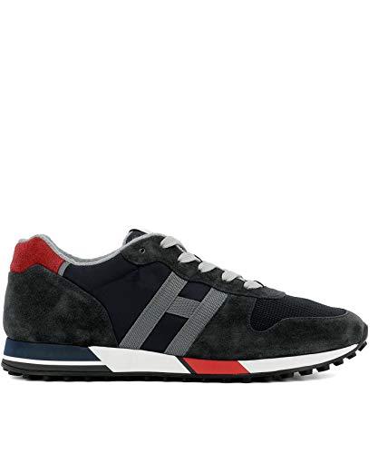 Hogan Sneakers Uomo Hxm3830an50jhm6eec Camoscio Blu