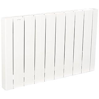 Acova Mohair LCD Elektrischer Heizkörper, Aluminium, für Wärmeträgerflüssigkeit, weiß, 50030030