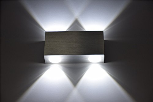Applique led camera da letto. simple gzmj moderno e minimalista led