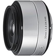Sigma 30mm f2,8 DN Objektiv (Filtergewinde 46mm) für Sony E-Mount Objektivbajonett silber