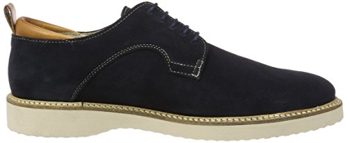 Marc O'Polo Herren 70123703401300 Lace Up Shoe Derby Blau (Navy)