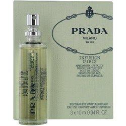 Prada Infusion d Iris edp purse spray refill 3x10ml -