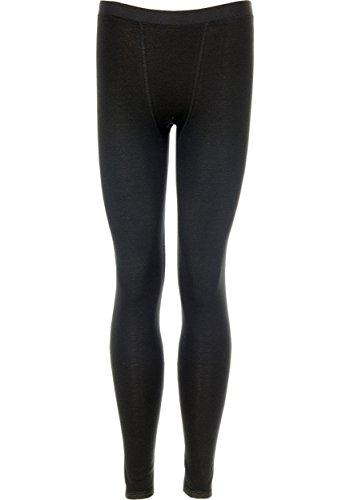Trigema Trigema Damen Lange Funktions-unterhose - Base Layers De Sport - Mixte Noir