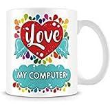 Tazza di caffè, per il ° compleanno regalo personalizzato in ceramica Coffee Cup, 311,8gram, bianco