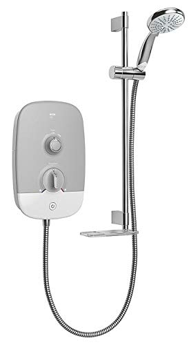 Mira Play White/Grey 9.5kW Electric Shower 1.1895.002 Best Price and Cheapest