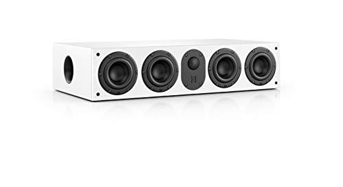 Nubert nuLine CS-64 Centerlautsprecher | Lautsprecher für Heimkino & Musikgenuss | Stimmen auf hohem Niveau | Passive Centerbox mit 2,5 Wege Technik Made in Germany | Kompaktlautsprecher Weiß