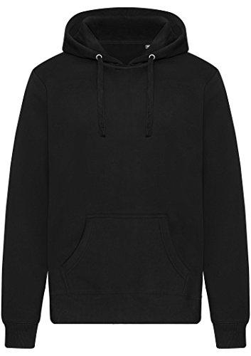 Kapuzenpullover/Sweatshirt ohne Taschen - Beats&Base schwarz (Unisex) (L) Schwarz Unisex Pullover