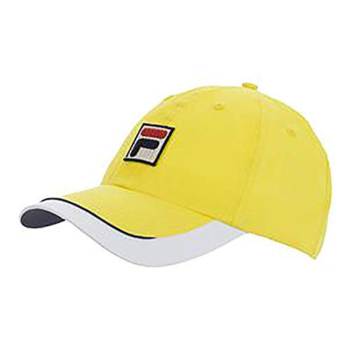Hall Of Fame Baseball-logo (Fila Unisex BNP Miami Cotton Adjustable Cap hat with Embroidered Logo)