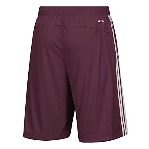 027fe1cb91363 adidas Mississippi State Bulldogs Men's Shorts 3 Stripes Knit Short (Large)