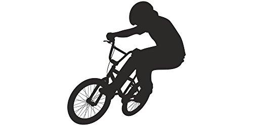 Wandtattoo Kinderzimmer BMX Fahrer