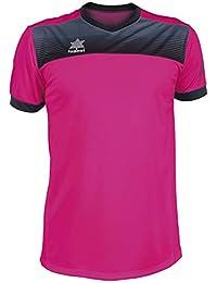 Luanvi Bolton Camiseta Manga Corta de Tenis, Hombre, Rosa, L