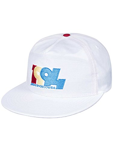Cappellino Snapback Graduate DC Shoes Co cappellino baseball cap Taglia  unica - bianco 3d794be952ee