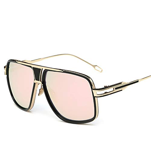 GJYANJING Sonnenbrille Neue StilSonnenbrille Männer Sonnenbrille Fahren Sonnenbrille Männlich Großmeister Platz Sonnenbrille