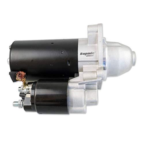 Bapmic 12412179001 Austausch Anlasser+Magnetschalter Starter 1.4KW für 3er 5er 7er X3 X5 Z3 Z4 E36 E46 -