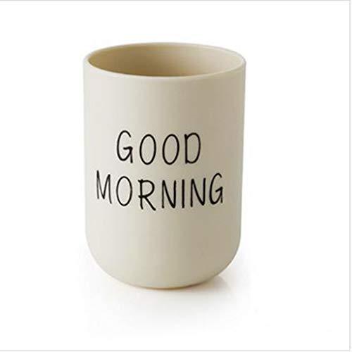 Grilsrylyna Einfache Plain Flaschenbürste,Tasse Muttertag,Guten Morgen Becher,7.5x7.5x10cm/3.1x3.1x3.9 inch 50g Flaschenbürstem,Flaschenwärmer Baby -