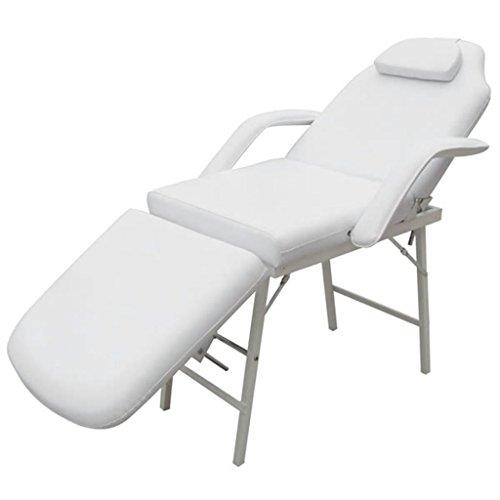 vidaXL Kosmetikstuhl Kosmetikliege Massageliege Massagestuhl Massagebank Liege